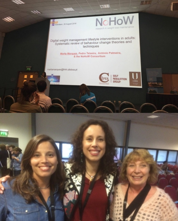 CIPER | SR at the 2016 Annual Conference of the European Health Psychology Society and the British Psychology Society Division of Health Psychology in Aberdeen