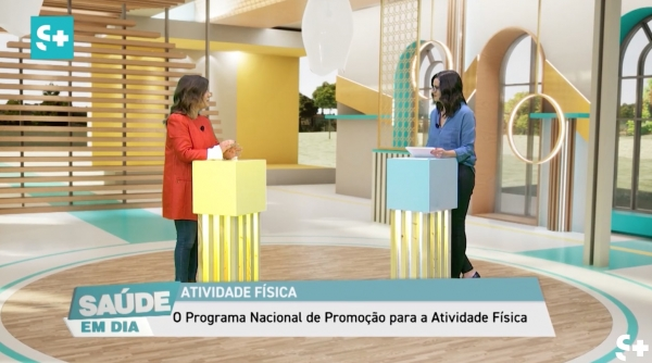 Marlene Silva interviewed on the National Program for the Promotion of Physical Activity