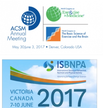 CIPER | Self-Regulation group members at ACSM 2017 and ISBNPA 2017