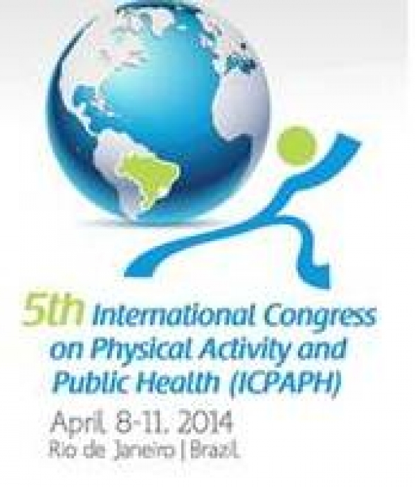 Pedro Teixeira at the 5th International Congress on Physical Activity and Public Health