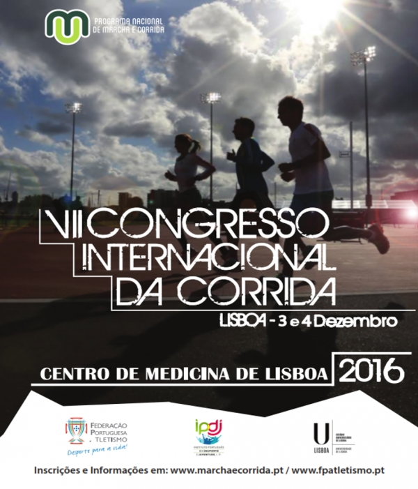Pedro Teixeira at the VII Running International Congress
